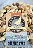 Organic Layer Feed with Corn for Chickens and Ducks, 25lbs, Non-GMO Project Verified, Always Soy Free