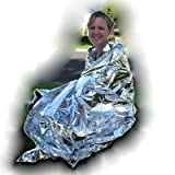 "Emergency Mylar Blanket 54"" x 80"""