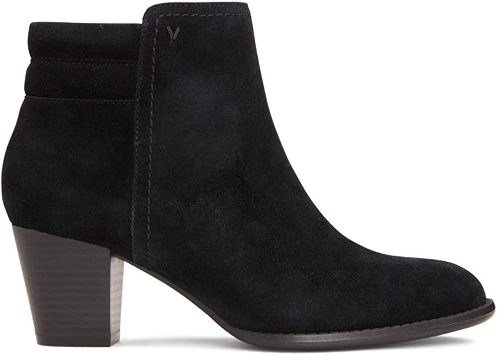 Ladies Boots with Concealed Orthotic Support Vionic Womens Upright Jessie Ankle Boot
