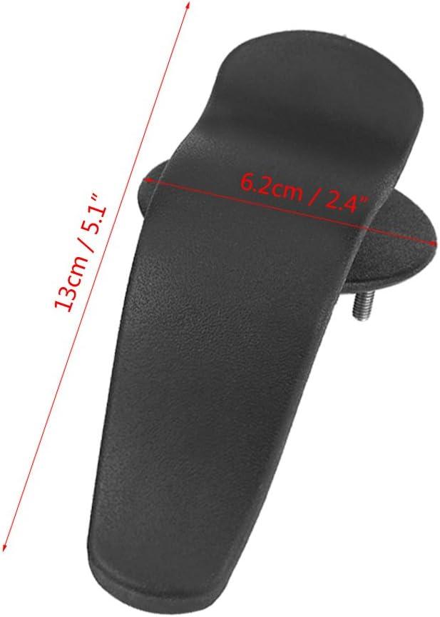 Qiilu 2pcs Multi-Functional Interior Trunk Cover Rack Clip Umbrella Holder Hanger Hook Universal