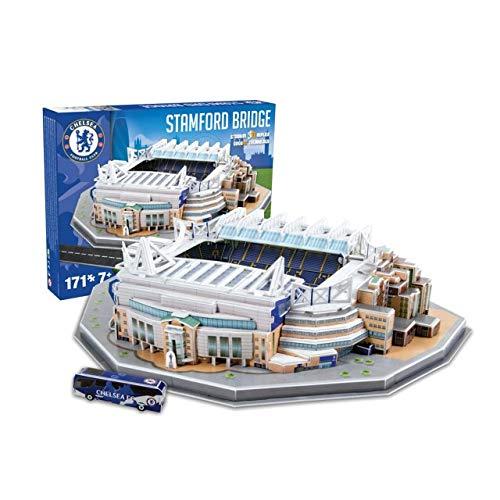 Nanostad Chelsea Stamford Bridge Stadium 3D Puzzle Varios Daiko 3725