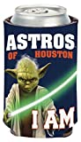 MLB Houston Astros Star Wars Yoda Can Cooler