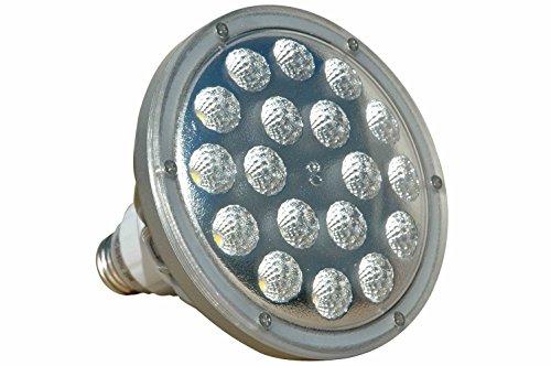 25W LED PAR 38 Spot / Flood Light - 2500 Lumens - Low Voltage - 11-25V AC/DC - Rough Service - 38 Led Spot