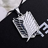 CG Costume Attack on Titan Necklace Survey Corps TV Alloy Cosplay Costume