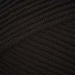 Patons smoothie dk - black (1033)