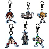 WWE Set of 6 Cartoon Keychains