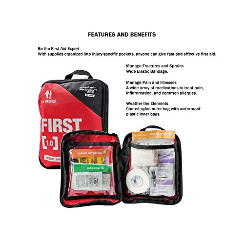 Emergency Survival Kit For Two People by Zippmo Survival Gear (Image #3)