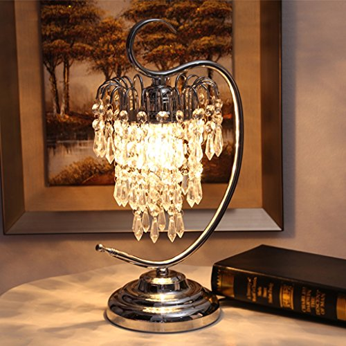 Edge To Table Lamp Crystal Table Lamp Beautiful Bedroom Bedside Wedding Table Lamp Pastoral European Luxury Decorative Table Lamp by Edge To