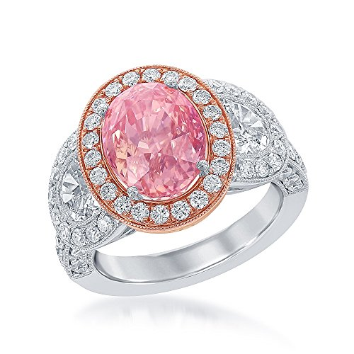 625-CT-Natural-Padparadscha-Sapphire-and-Diamond-Ring