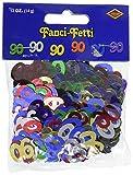 Fanci-Fetti 90 Silhouettes (multi-color) Party Accessory (.5 Oz/Pkg) (Value 3-Pack)