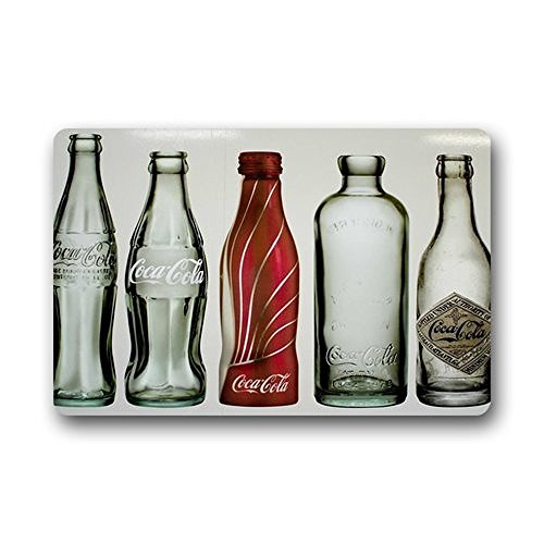 Retro Style Coca Cola Bottles Indoor/Outdoor Doormat