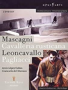 Mascagni / Leoncavallo - Cavalleria Rusticana / Pagliacci [2 DVDs] [Alemania]
