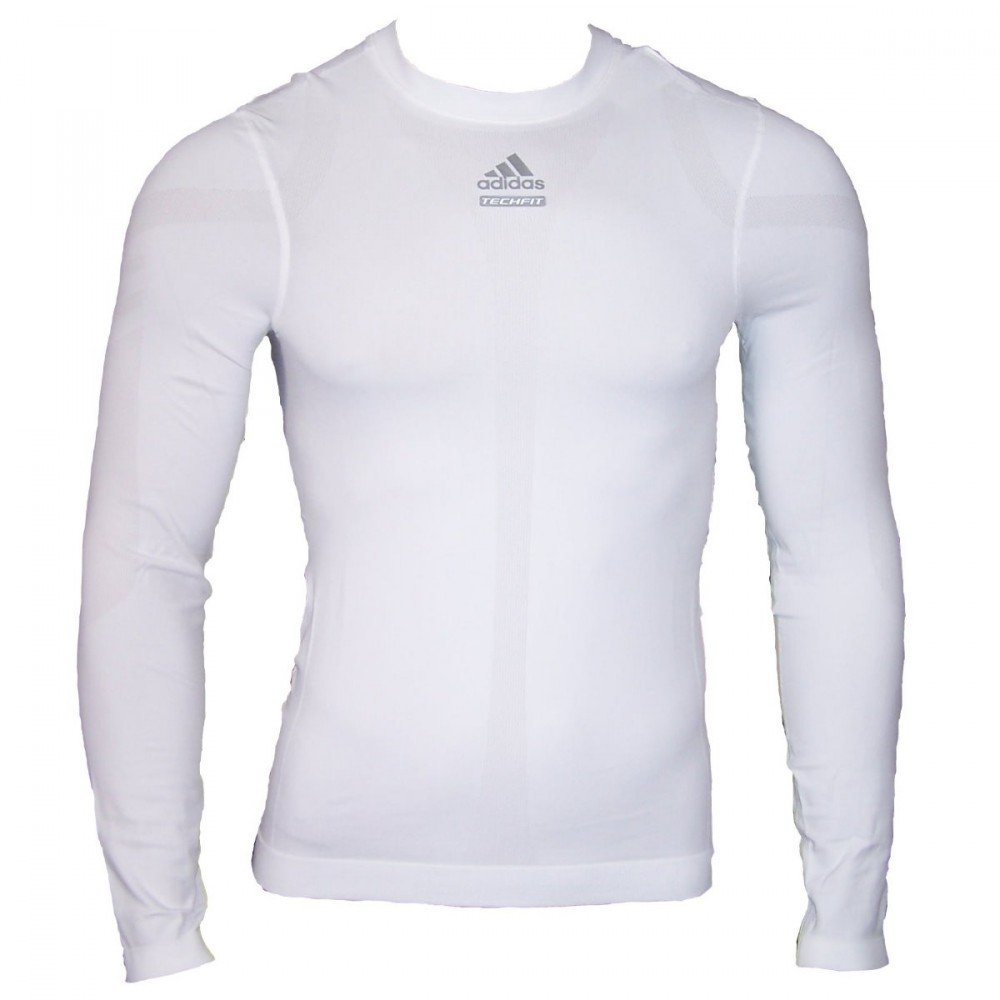 adidas TechFit Kompressionsshirt Langarm Shirt
