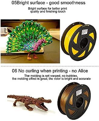 Ndier 3D Pen PLA filamento recargas 3mm 3D impresora de la pluma ...