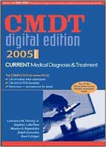 CURRENT Medical Diagnosis & Treatment Digital Edition 2005