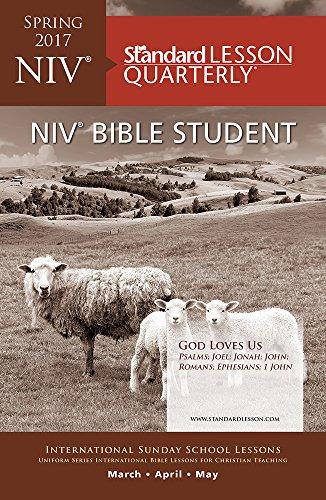 Niv Bible Student Bible Study: Quarterly Sunday School Lessons