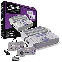 Hyperkin - Consola Retron 2 Gris + 2 Mandos (Snes/Nes)