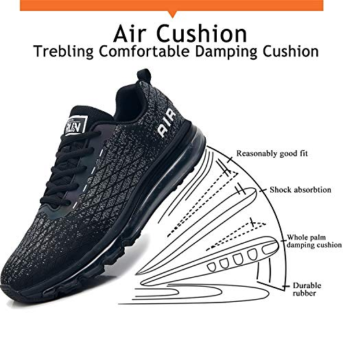 TORISKY Basket Homme Femme Air Chaussure de Sports Course Sneakers Basses Mode Casual Multisports Fitness Gym 4