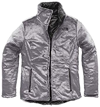 The North Face Women's's Mossbud Insulated Reversible Jacket - Asphalt Grey & Mid Grey - XS