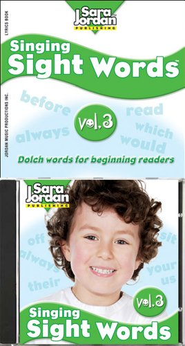 Singing Sight Words, vol. 3, CD/book