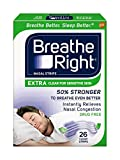 Breathe Right Extra Clear for Sensitive Skin, 104