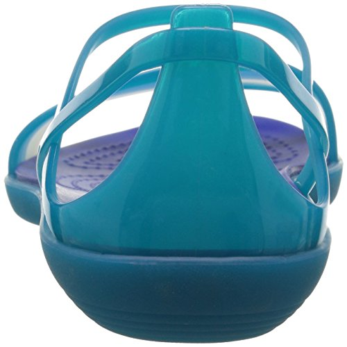 crocs Womens Isabella Sandal Turquoise/Cerulean Blue