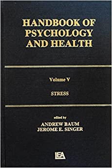 Handbook of Psychology and Health: Stress v. 5