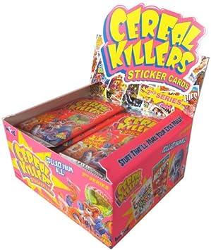 Tarjetas adhesivas de Cereales Killers Serie 2 - Caja de hobby: Amazon.es: Hogar