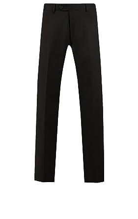Pantalón de Traje Negro para Viaje/Resistente/Alto ...