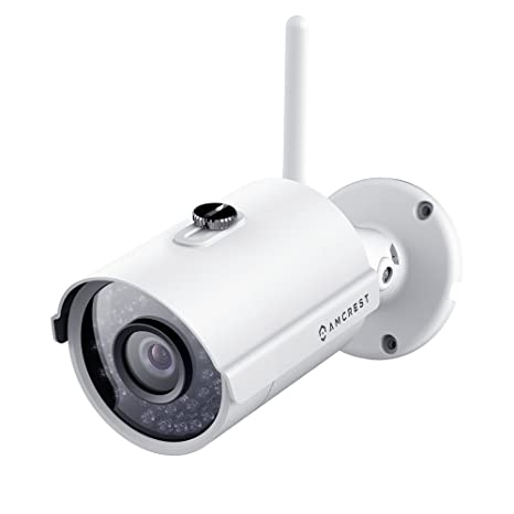 Amcrest IP2M-842W ProHD Outdoor 1080P WiFi Wireless IP Security Bullet Cámara, IP66 Impermeable