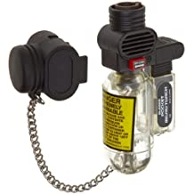 Blazer PB207CR The Torch Butane Refillable Lighter, Clear