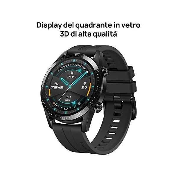 HUAWEI Watch GT 2 Smartwatch 46 mm, Durata Batteria fino a 2 Settimane, GPS, 15 Modalità di Allenamento, Display del… 3