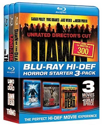 Halloween Starter Pack  (Land of the Dead / Dawn of the Dead / The Thing) [Blu-ray] (Halloween 6 Producers Cut)