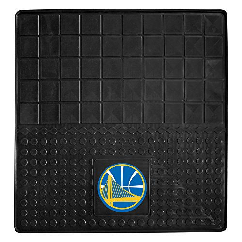 FANMATS 15377 NBA Golden State Warriors Motorcycle Mat by Fanmats