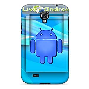 Top Quality Case Cover For Galaxy S4 Case With Nice Android Appearance