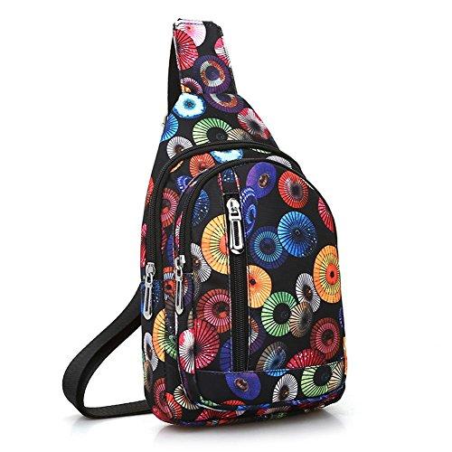 Women Messenger Everpert Handbags Crossbody Sling Bag Shoulder Travel Chest Colorful vr585gq