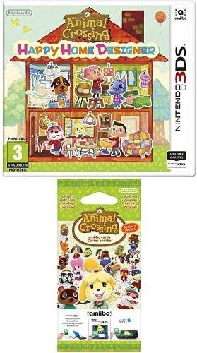 Animal Crossing: Happy Home Designer + Pack de 3 tarjetas Amiibo Animal Crossing (Nintendo 3DS): Amazon.es: Videojuegos