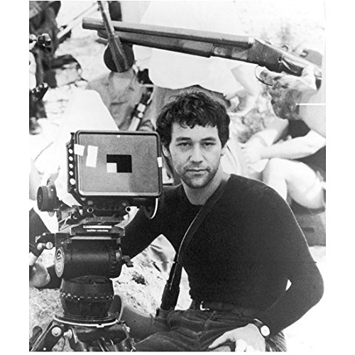 [The Evil Dead Director Sam Raimi on Set Ready for Action 8 x 10 Inch Photo] (Best Cult Halloween Movies)