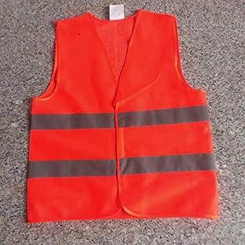 ScqbGzwxghz Gilet Protettivo Riflettente Abbigliamento da Lavoro Gilet Protettivo Alta visibilit/à Red, XL
