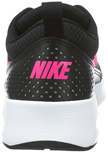 Nike Unisex-Kinder Air Max Thea (Gs) Low-Top Schwarz (Black/hyper Pink-white)