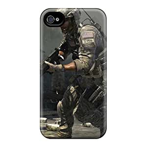 New Style Ice Cream Song Hard Case Cover For Iphone 4/4s- Call Of Duty Modern Warfare 3 10660