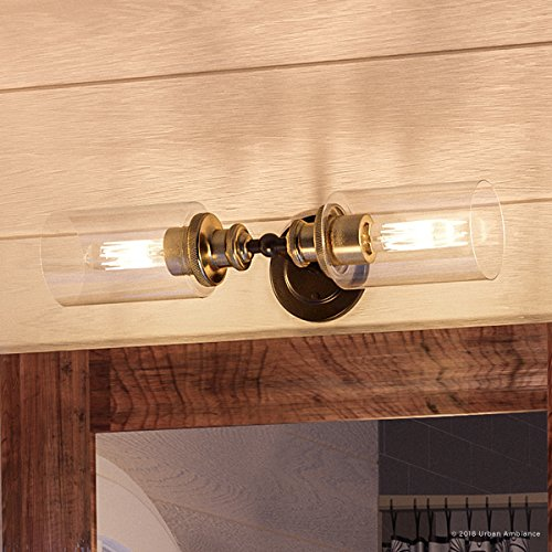 (Luxury Industrial Chic Bathroom Vanity Light, Medium Size: 4.75