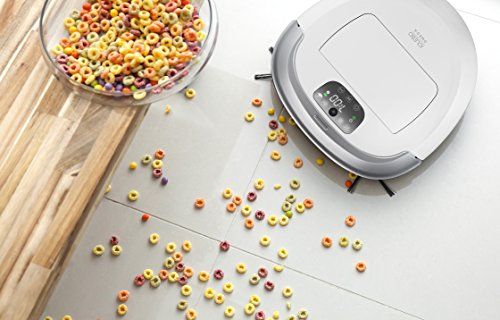 iClebo Omega Robot Wet All-Surface Carpet or Blade for Hair, Cleans with Remote Camera-Mapping, Suction Available,