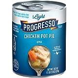 Progresso Soup, Low Fat Light, Chicken Pot Pie Style Soup, 18.5 Oz Cans (Pack Of 12)
