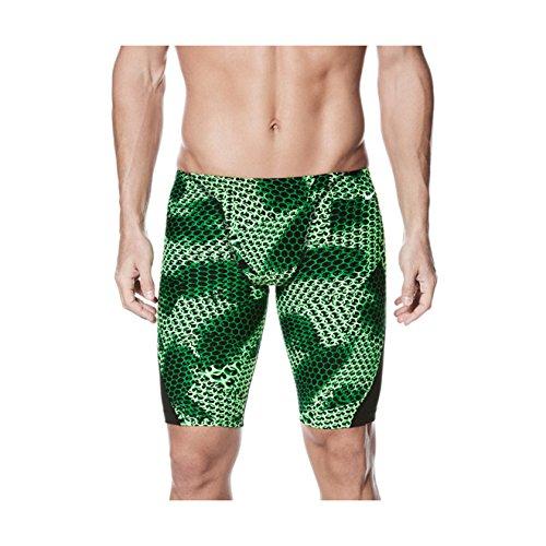 Nike Men's Nova Spark Performance Swim Jammer (Green, 34)