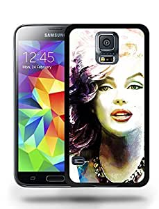 Super Movie Vintage Film Star Actress Marilyn Monroe Sketch Art Phone Case Cover Designs for Samsung Galaxy S5