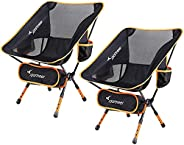 Camping Chair, Ultralight Portable Folding Sportneer Backpacking Chair, Compact and Heavy Duty Outdoors, BBQ,