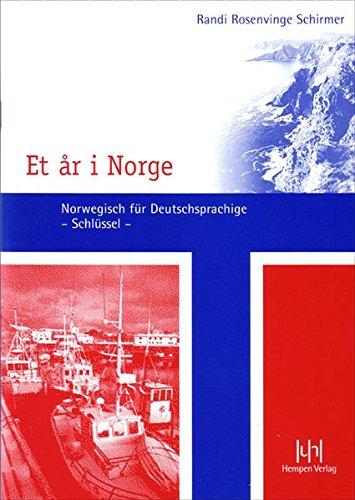 Et år i Norge: Schlüssel zum Lehrbuch