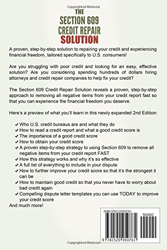 The Section 609 Credit Repair Solution How To Remove All Negative