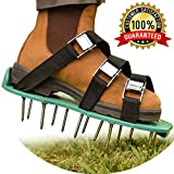 Spring Lawn Treatment - Revive Your Lawn Roots with Lawn Aerator Shoes - Heavy Duty Spiked Shoes, 2